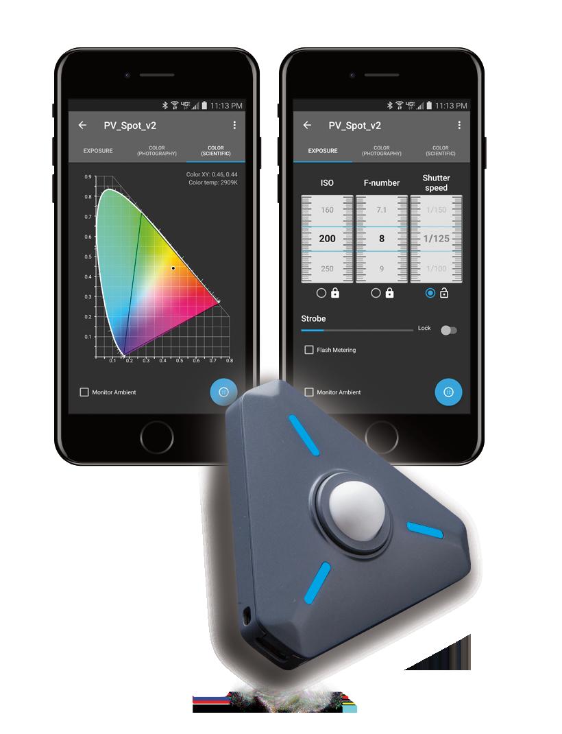 Illuminati Meter, with smartphone apps