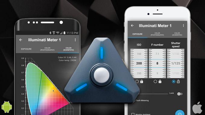 Illuminati Meter, smartphone app
