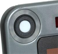 Isolight chart holder showing detail of corner sensor